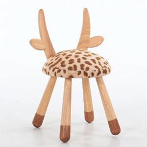 北欧实木创意儿童凳