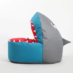 卡通布艺鲨鱼懒人沙发