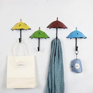 创意雨伞挂钩卧室(一套4个)