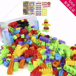 大颗粒积木创意拼搭塑料玩具