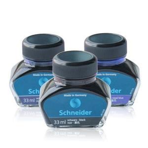 schneider施耐德非碳素不堵笔钢笔墨水瓶装33ml