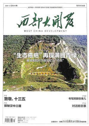 西部大开发(1季度共3期) 杂志订阅
