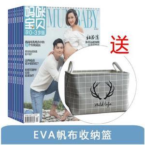 妈咪宝贝孕0-3岁(1年共12期)+送EVA帆布收纳篮