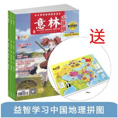 意林少年版(1年共24期)+送益智学习中国地理拼图