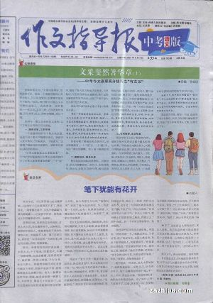作文指导报中考语文版(半年共24期)杂志订阅