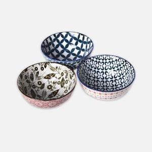 创意个性彩色陶瓷碗