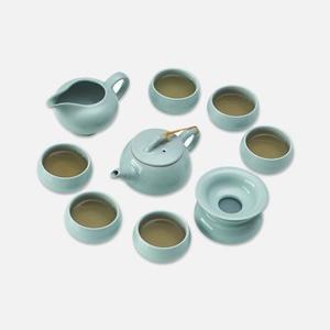 陶瓷故事汝窑陶瓷茶具套装