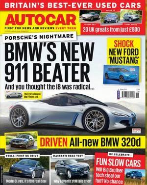 汽车Autocar(英文)(1年共52期)(杂志订阅)