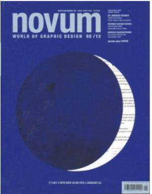 德國平面設計Novum(德文)(1年共12期)(雜志訂閱)