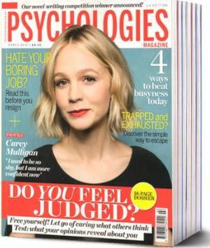 心理学Psychologies(英文)(1年共12期)(杂志订阅)