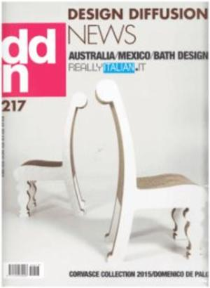 设计交流新闻DDN:Design Diffusion News(意大利文)(1年共9期)(杂志订阅)