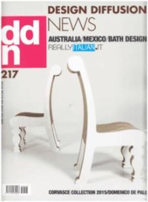 設計交流新聞DDN:Design Diffusion News(意大利文)(1年共9期)(雜志訂閱)