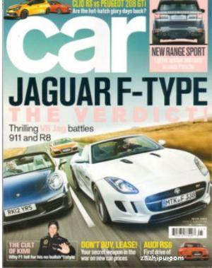 Car(英文)(1年共12期)(杂志订阅)