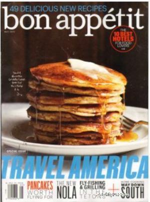 美国?#31216;?#19982;宴请杂志Bon Appetit �英?#27169;�?年共12期��杂志订?#27169;?