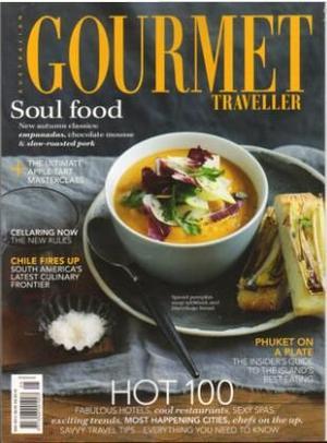 澳大利亚美食旅行家 Gourmet Traveller�英?#27169;�?年共12期��杂志订?#27169;?