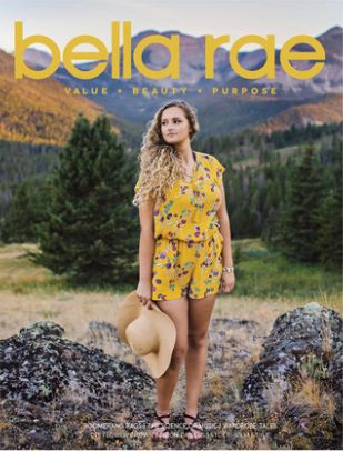 Bella Rae�英语��1年共4期��杂志订?#27169;?
