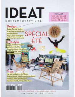 理想家Ideat(英文/法文)(1年共7期)(杂志订阅)