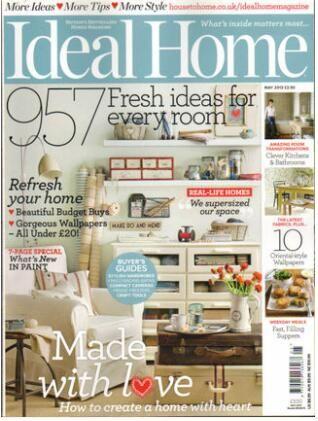 理想家庭Ideal Home �英?#27169;�?年共12期��杂志订?#27169;?