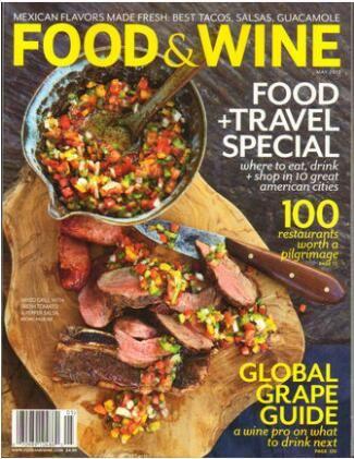 佳肴与美酒Food & Wine�英?#27169;�?年共12期��杂志订?#27169;?