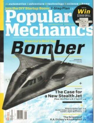 大众机械Popular Mechanics(英文)(1年共10期)(杂志订阅)