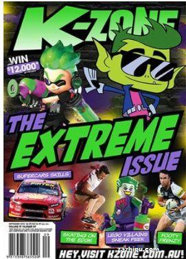 K Zone(英文)(1年共12期)(杂志订阅)