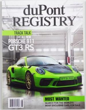 杜邦汽车Dupont Registry:Automotive(英文)(1年共13期)(杂志订阅)
