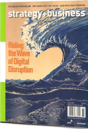 策略与商业Strategy + Business(英文)(1年共4期)(杂志订阅)