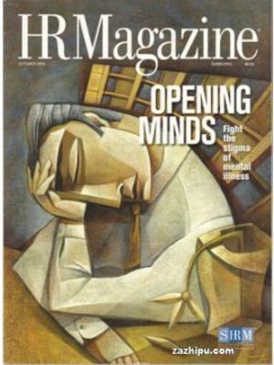 人力资源杂志HR Magazine (英文)(1年共10期)(杂志订阅)