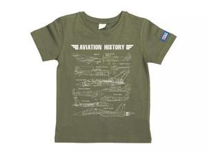 万物T恤-百年经典战机(橄榄绿)XS码