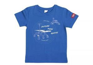 万物T恤-探索火星(太空蓝)XL码