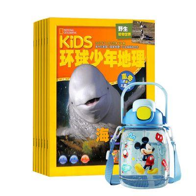 KiDS環球少年地理(與美國國家地理少兒版版權合作)(1年共12期)+手工制作拼裝3d立體船模