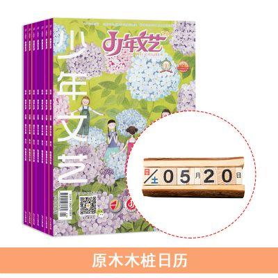 少年文艺(江苏)(1年共12期)+原木木桩日历