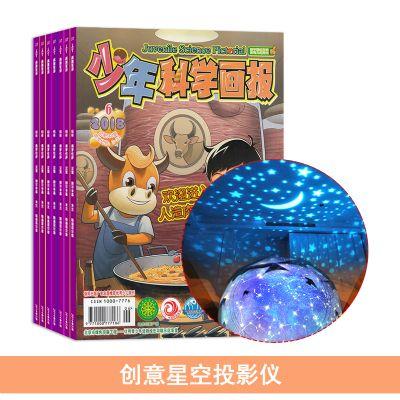 少年科學畫報(1年共12期)+送創意星空投影儀