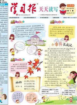 学习报小学语文天天读写二年级(1年共40期)(杂志订阅)