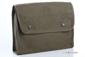 【指文周边 现货】原品德军灰绿文件袋 手包 防水 可放IPAD 结实耐用105包邮