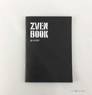 【指文周边 现货】指文创意笔记本zven book 黑色 12.9包邮