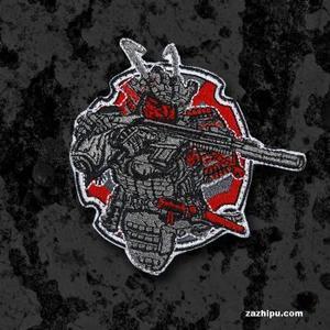 【指文周边 现货】战术武士TACTICAL SAMURAI士气章 精细款 刺绣款29包邮