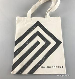 【指文文创 现货】乳白色指文军事主题包包全棉帆布袋环保购物袋大容量24.9免邮