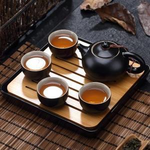旅行套装便携陶瓷功夫茶具1壶4杯