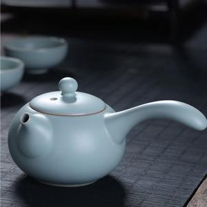 汝窑茶壶陶瓷汝窑茶具(随机款)