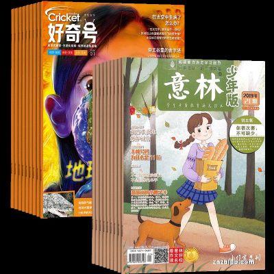 好奇号(1年12期)+意林少年版(1年24期)(组合订阅)(杂志订阅)