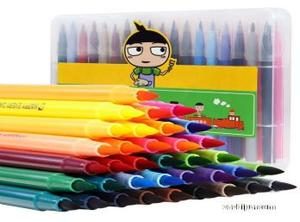 預售 米小圈文具水彩筆套裝36色