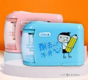 預售 米小圈文具電動卷筆(粉色)