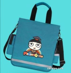 預售 米小圈文具補習袋書包 七彩童年補課袋 藍色