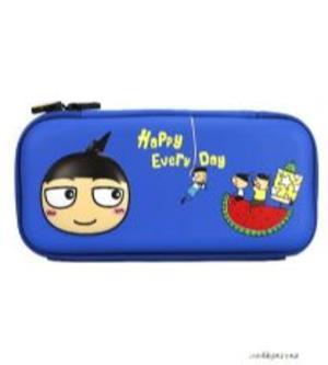 預售 米小圈文具 純真年代 EVA筆袋 藍色