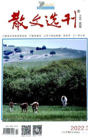 散文选刊下半月(1年共12期)(杂志订阅)